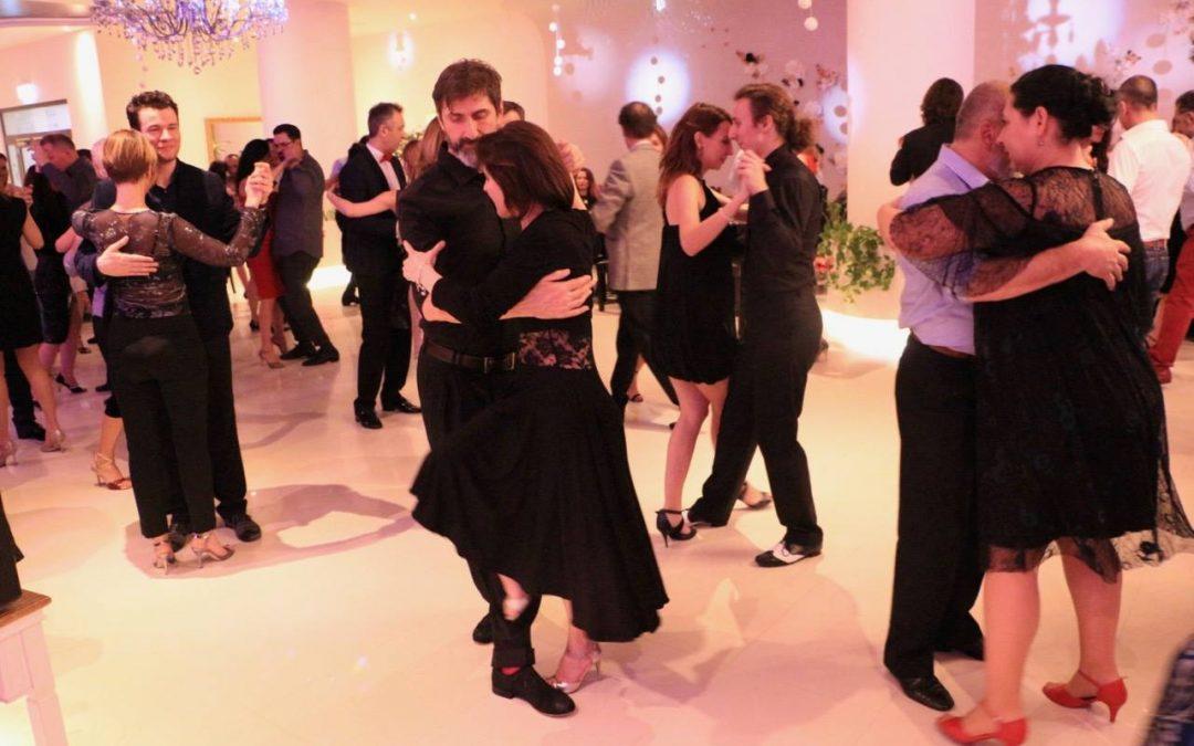 Balul anual de tango argentinian